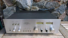 Rotel RA-713 Retro Vintage Verstärker * Gebürstetes Alu VU Meter PHONO Loudness