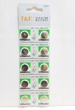30 x AG10, LR 1130, 389, 155 V, Bouton Pièce Batterie Alcaline Cellule t&e