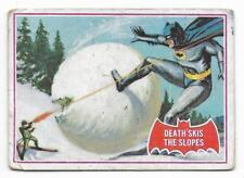 1966 Batman Red Bat (22A) Death Skis The Slopes