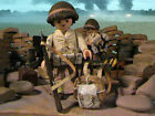 PLAYMOBIL CUSTOM US 457 TH ARTILLERY BATTALION (NORMANDIA-1944) REF-0169 BIS