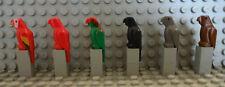 (B7/1) LEGO PAPAGEI 2546 RITTERBURG PIRATENSCHIFF 6081 6098 6285 6286 GEBRAUCHT