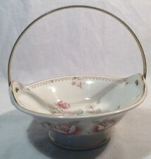Lovely St. Michael Claremont Floral Pattern Candy Sweet Dish With Handle