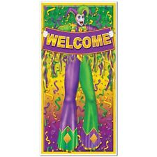 Mardi Gras Door Cover Party Decoration
