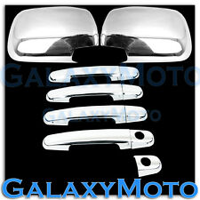 05-11 TOYOTA TACOMA Chrome plated Full ABS Mirror+4 Door Handle Cover Combo kit