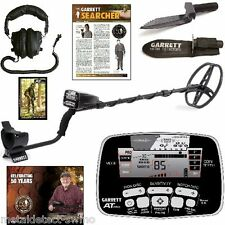 Garrett New AT Pro Metal Detector with Free Headphones + Edge Digger with Sheath