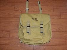 WWII U.S MILITARY KHAKI MUSETTE BAG SHOULDER BAG REPRODUCTION