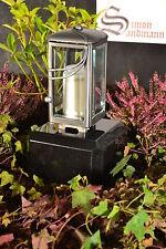 Grablampe   Grablaterne   Grabschmuck   Grablicht aus Aluminium Silber ->NEU<-
