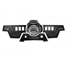Polaris RZR XP1000 UTV ATV Dash Panel Kit Billet Aluminum Black Powdercoated