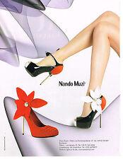 PUBLICITE ADVERTISING  2011   NANDO  MUZI  collection chaussures          170513