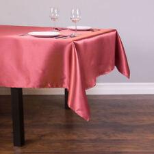 "1Pcs Satin Rectangle 57""x118""Tablecloth Cover for Banquet Wedding Party Decor"