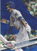 KRIS BRYANT 2017 TOPPS CHROME SAPPHIRE EDITION #277 ONLY 250 MADE