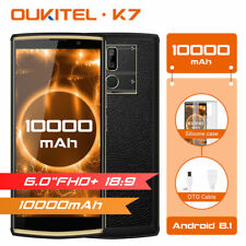 "6.0"" Oukitel K7 4G teléfono inteligente Android 8.1 ocho núcleos 4GB+64GB Doble Sim 10000mAh"