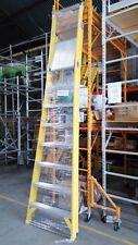 AR-Platform fiberglass ladder  heavy duty overall height 3.43m stand 2.32m