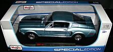 1968 FORD MUSTANG COBRAJETGT 1:18 SCALE DIECAST METAL SPECIAL EDITION MAISTO NEW