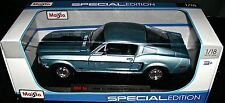1968 FORD MUSTANG COBRA JET GT 1:18 SCALE DIECAST SPECIAL EDITION MAISTO NEW