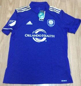Men's Adidas MLS Orlando City SC Jersey Purple Size Medium 7417A