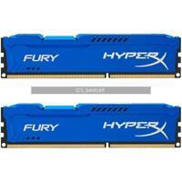 16GB 2x 8GB DDR3 1600 MHz For Kingston FURY HyperX PC3-12800U DIMM Desktop Ram
