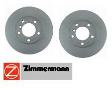 BMW F30 E91 E92 E93 428i X1 07-14 Set of 2 Front Disc Brake Rotors Zimmermann
