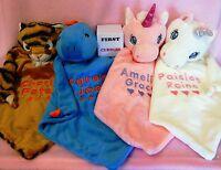 Baby Comforter Blankie Blanket Gift - New baby gift. Birthday. Personalised.
