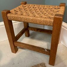 Vintage Woven Foot Stool *B