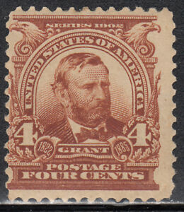 USA  MNH Scott  # 303 Grant  Value $ 140.00