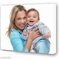 YOUR PERSONALISED PHOTO PICTURE PRINT ON TO A CANVAS CANVAS COLLAGE Wall Art