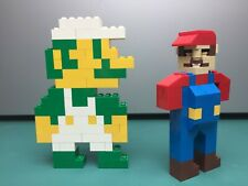 CUSTOM LEGO 8-Bit Mario and Luigi!! Nintendo, Super Mario Bros MOC!!
