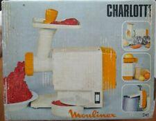Moulinex Charlotte 245 Meat Grinder Salad MAKER  Fruit Juicer  Can Opener