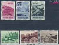 Belgien 967-972 postfrisch 1953 Tourismus (8248467