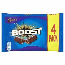 Cadbury Boost Tableta de chocolate, 4 x 40 gr (160g)