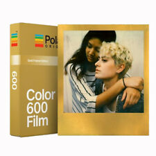 Polaroid Originals 600 Colour Instant film GOLD Borders - NEW VERSION