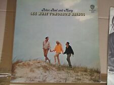 Peter, Paul And Mary See What Tomorrow Brings Vinyl LP Mono
