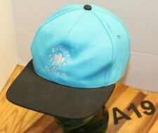 OUTLAW SADDLERY POLSON MONTANA HAT BLUE/BLACK SNAPBACK EMBROIDERED VGC A19