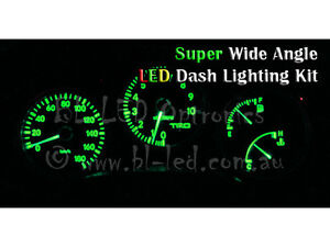 Green LED Dash Cluster Lighting Kit For Toyota Supra JZA80
