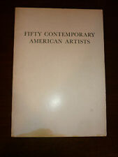 Fifty Contemporary American Artists - Greenwich Gallery Opening Exhibition 1957