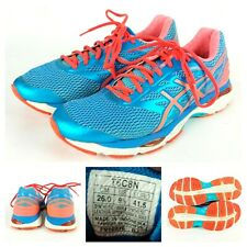 Asics Gel-Cumulus 18 T6C8N Running Shoes Athletic Sneakers Blue Women's 9.5