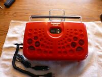 Panasonis RS-833S Portable Stereo 8 Track Tape Player Very Nice Tested Plays