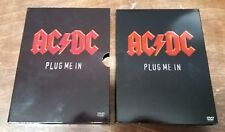 AC/DC - Plug Me In (DVD, 2007, 2-Disc Set) AC DC AC-DC Live Concert Collection