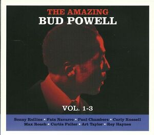 THE AMAZING BUD POWELL VOLUME 1 - 3, SONNY ROLLINS & MORE - 3 CD BOX SET