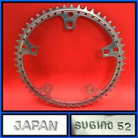 Sugino Super Mighty Chainring 52T Bicycle Drilled Chain ring 144mm BCD Crank