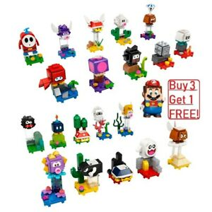 Lego Super Mario 71361 Minifigures Mini fig 71386 Series 1 and 2 71360