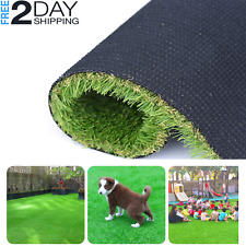 Artificial synthetic Grass Mat Rug Pet Turf Lawn Carpet Landscape Indoor Outdoor