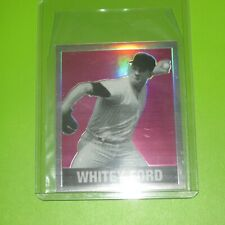 2018 Leaf Originals Whitey Ford Pink Refractor #ed 1/10