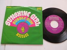 Message - Sunshine Girl / Bubble Gum (Kraut-Pop) Vinyl: good/Cover:mint -