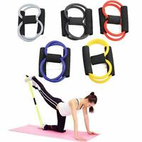 8 Type Muscle Chest Expander Rope Fitness Exercise Yoga Resistance Bands