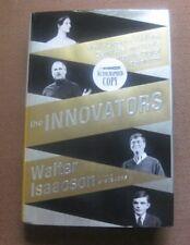 SIGNED  -THE INNOVATORS by Walter Isaacson - 1st/1st  2014 HCDJ  Gates Jobs
