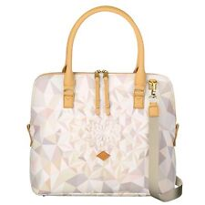NEU Oilily Tasche Kinetic Summer M Carry All Oyster White Hand/Umhängetasche OVP