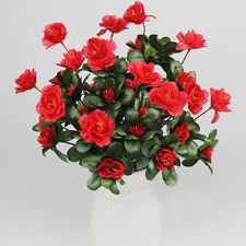 Bouquet Artificiale Finto Azalea Cartamo Floreale Giardino Di Casa