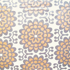 """AMY BUTLER """"LOTUS"""" WALL FLOWER Apricot by yard"""