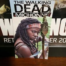 Michonne Katana/Samurai/Sword Collectors  *Key Chain* The Walking Dead *NEW*